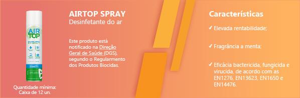Air Top Spray Desinfetante do Ar